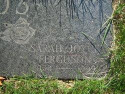 Sarah Joyce <i>Ferguson</i> Fields
