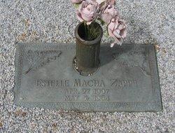 Estelle <i>Macha</i> Zappe