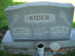 Alice Ethel Babe <i>Cross</i> Rider