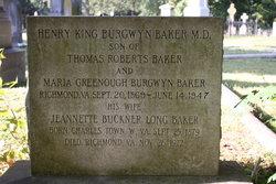 Jennett Buckner <i>Long</i> Baker