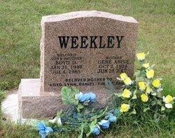 Boyd Deane Weekley