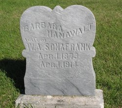 Barbara Margaret <i>Hanawalt</i> Sonafrank