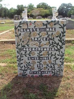 Gladys Mae <i>Tapley</i> Abercrombie