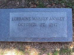 Lorraine <i>Massey</i> Ansley