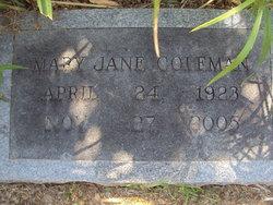 Mary Jane <i>Massey</i> Coleman