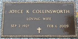 Joyce Kathleen <i>Fuller</i> Collinsworth