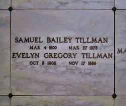 Evelyn <i>Gregory</i> Bailey