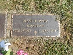 Mary E <i>Dees</i> Bond