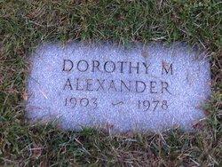 Dorothy <i>Mann</i> Alexander