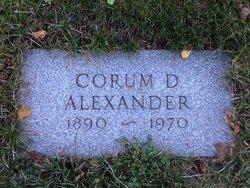 Corum D Alexander