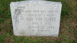 Ada Ann Beaver