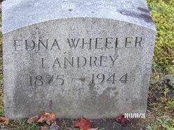 Edna <i>Wheeler</i> Landrey