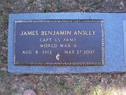 Rev James Benjamin Ansley