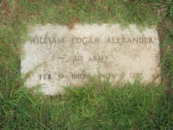William Edgar Alexander
