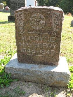 Washington Boyce Mayberry