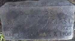 Sarah Ann <i>Morgan</i> Phillips