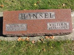 Alma C <i>Engel</i> Hansel