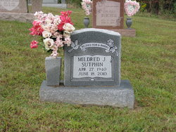 Mildred J. <i>Napier</i> Sutphin
