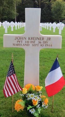 Pvt John Kreiner, Jr