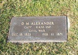 D M Alexander