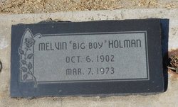 Melvin George Big Boy Holman