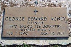 Pvt George Agney