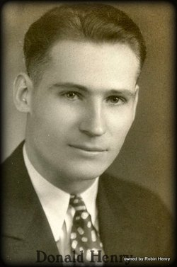 Donald James Henry