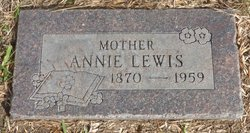Annie <i>Ketch</i> Lewis