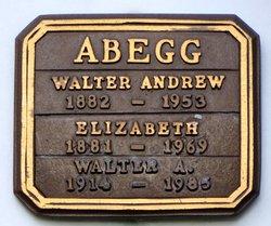 Walter Andrew Abegg