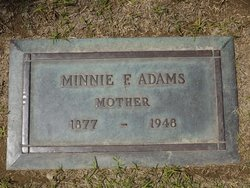 Minnie Frances <i>Martin</i> Adams