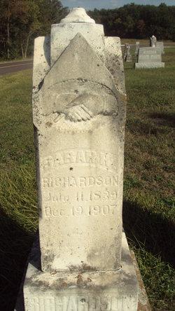 Sarah H. <i>McDaniel</i> Richardson