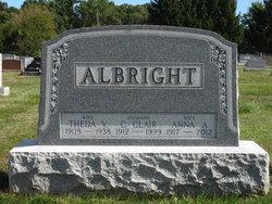 Anna Alverta <i>Shindle</i> Albright