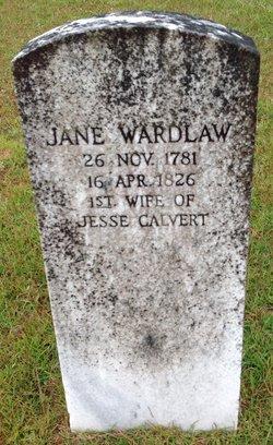 Jane <i>Wardlaw</i> Calvert