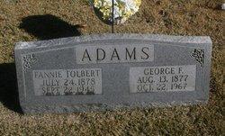 Fanny <i>Tolbert</i> Adams