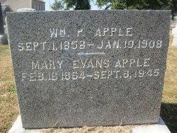 Mary Elizabeth <i>Evans</i> Apple