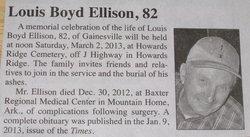 Louis B Ellison