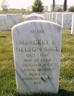 Margery Ellen <i>Nelson</i> Ball