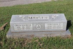 Virginia F. <i>Shrewsbury</i> Maysey