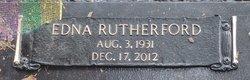 Edna Marie <i>Rutherford</i> Bradford
