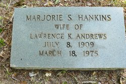 Marjorie S <i>Hankins</i> Andrews