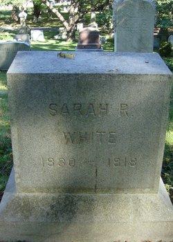 Sarah Robinson White