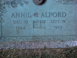 Annie Sylvania <i>Cheek</i> Alford