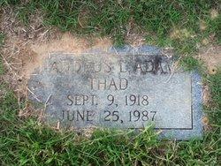 Thaddeus L Thad Adams