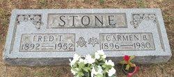 Carmen B <i>Bowers</i> Stone