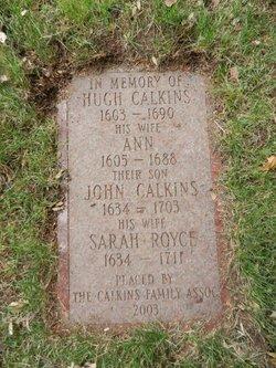Ann <i>Eaton</i> Calkins