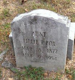 Lillie R. Fox