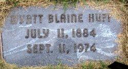 Wyatt Blaine Huff