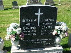 Betty Mae <i>White</i> Cantino