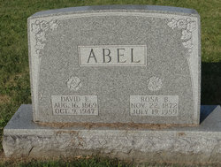 David E. Abel