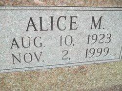 Alice M. Ashley